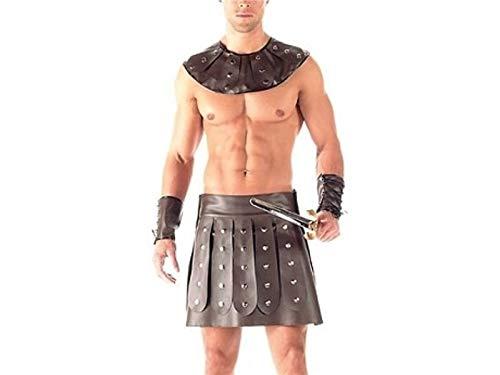 (Zehaer Love Costume Mens Erotic Lingerie Gladiator Uniform Sexy Lingerie Underwear Underpants Bodysuit G-String Jockstrap Briefs Couple)