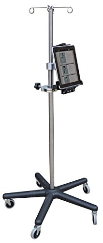 Omnimed  741324 Tablet Holder with Omni Clamp Without IV Pole by Omnimed