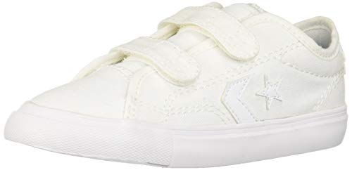 Converse Boys Infants' Star Replay 2V Low Top Sneaker White, 5 M US Toddler