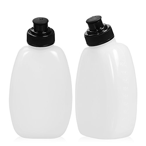 Water Bottles (2-Pack) for the Adalid Gear Running Hydration Belt : BPA-Free & Leak-Proof