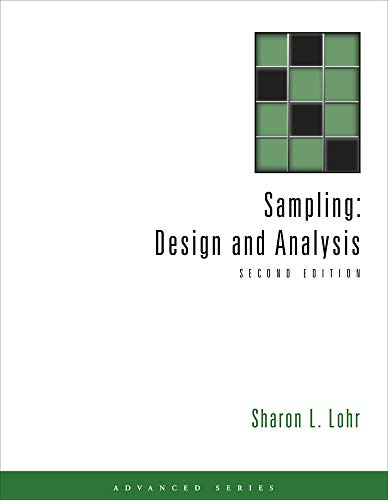 Sampling: Design and Analysis (Advanced Series)