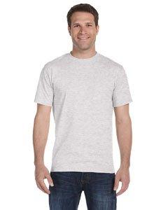 Gildan Mens DryBlend 5.6 oz., 50/50 T-Shirt (G800) -ASH GREY -4XL