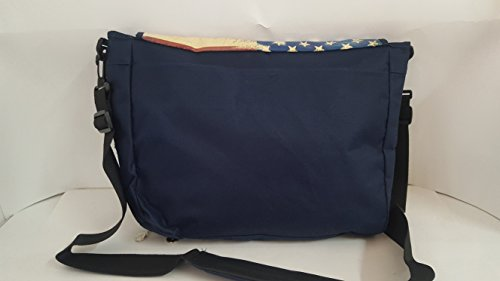 Correa Shoulder Bag Gola Harris USA Navy 42 x 32 cm