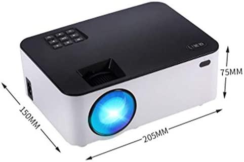 Mini proyector, portátil para Oficina y Tiempo Libre Resolución HD ...