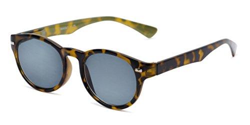 - Readers.com | The St. Paul Reading Sunglasses +2.50 Tortoise/Yellow with Smoke Round Stylish Men's & Women's Full Frame