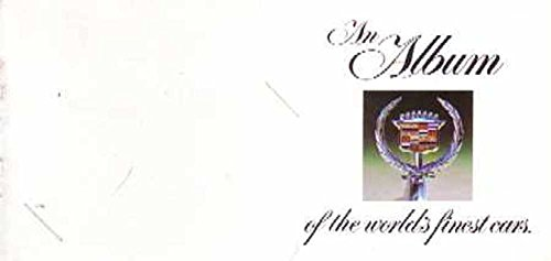 bishko automotive literature 1968-1972 Cadillac Album Worlds Cars Sales Brochure Book Advertisement Dealer