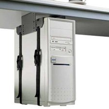 Penn Elcom CPU-42BN Economy CPU Under-Desk Mount for Office, School and Home - Underdesk Cpu