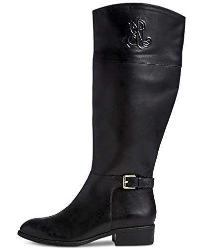 Lauren Ralph Lauren Women's Madisen Fashion Boot, Black, 8 B US
