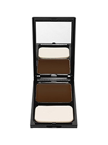 Pro Powder Foundation by Sacha Cosmetics, Best Natural Matte 2-in-1 Powder Foundation Makeup to give a Flawless Finish, Full Coverage, All Skin Types, 0.45 oz, Perfect Copper (Powder Copper Foundation)