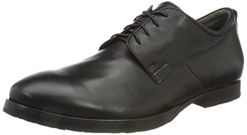 Think Walta_888680, Scarpe Stringate Oxford Uomo Nero (Schwarz 00)