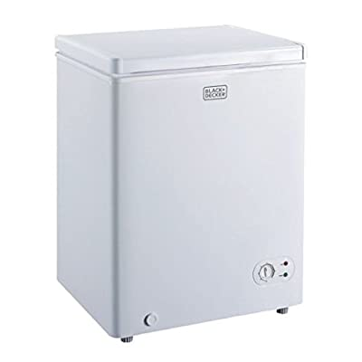 BLACK+DECKER BCFK35W Chest Freezer, White