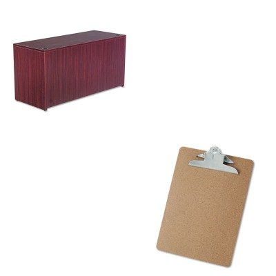 KITALEVA256024MYUNV40304 - Value Kit - Best Valencia Series Credenza Shell (ALEVA256024MY) and Universal 40304 Letter Size Clipboards (UNV40304) by Best