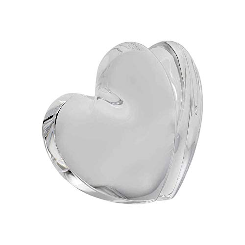 Baccarat Crystal Clear ZinZin Heart Large - Baccarat Heart