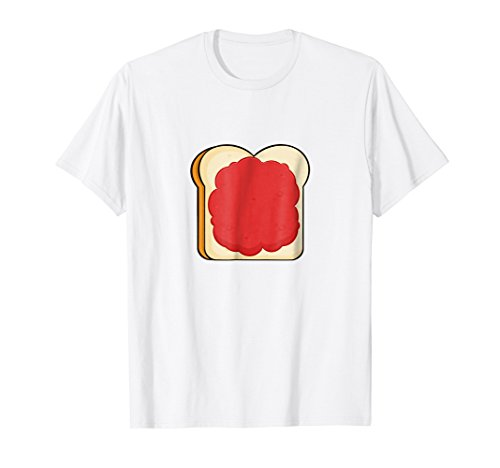 Toast with Jelly T-Shirt Bread and Jam Fruit Spread Sweet