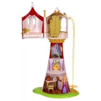 Disney Tangled Featuring Rapunzel Magical Tower Playset from Mattel
