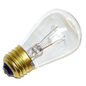 24 PACK -- 11S14/CL, 11 Watt S14 Incandescent Light Bulb, Medium Base, Clear