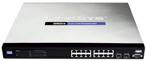 Cisco SR2016 16-port 10/100/1000 Gigabit Switch