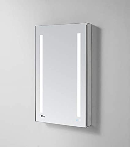 Aquadom Signature Royale 24in X 30in X 5 Left Hinged Led Lighted