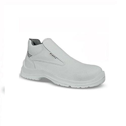 AIMONT - Calzado de protección de Material Sintético para mujer blanco blanco
