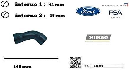 Tubo Manicotto Turbo Intercooler Aspirazione C1 C2 C3 Fiesta Fusion 1.4 TDCi
