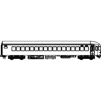 TW20-012 国鉄23系客車 ナハフ20(曲) B01MYAC7XD