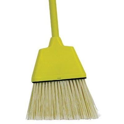 Weiler 751 Angled Upright Broom - Plastic Bristle - 8 in Block - 54 in Overall Length - 75160 [PRICE is per EACH]