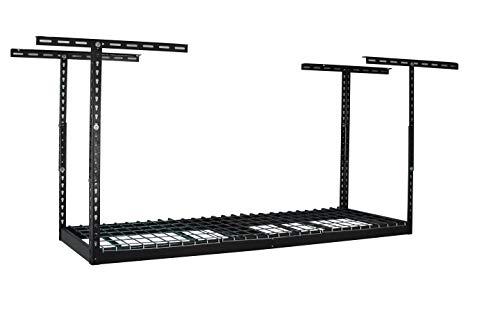 "MonsterRax – 2x6 Overhead Garage Storage Rack – Hammertone (12""-21"")"