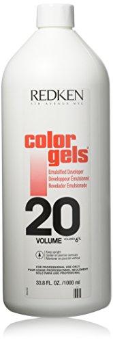Redken Color Gels Emulsified Developer TreatMent for Unisex, 20 Volume, 33.79 Ounce by REDKEN