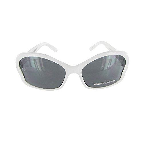 Skechers Girls SK 6008 Childs Fashion Sunglasses White