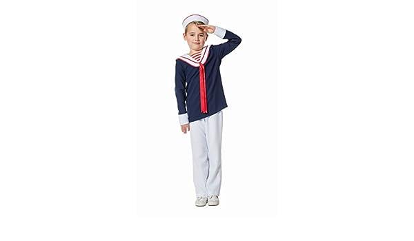 Generique - Disfraz Marinero para niño: Amazon.es: Juguetes y juegos