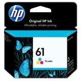 HP 61 Tricolor Original Ink Cartridges, 2 pack