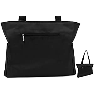 Veeva Breast Pump Tote Bag: Stylish, Thin Zippered Breastpump Bag To Fit All Brands of Breast Pumps