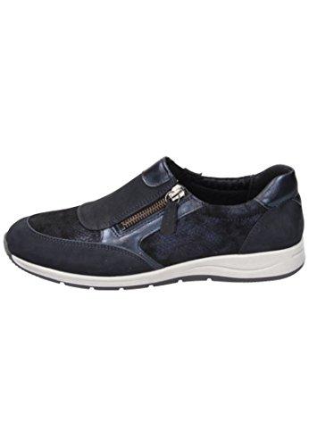 Comfortabel Damen-Slipper - G Wei?e Blau 942134-5 Blau 9YCvgZt
