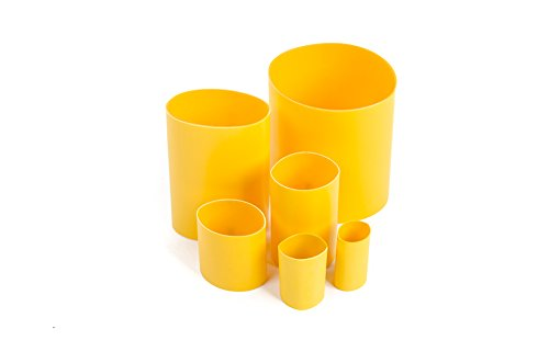 """3M DBI-SALA Fall Protection For Tools, 1500019,Flexible Heat Shrink, 75"""" X 175"""", Material Used To Protect The Tape/D-Ring Connection On The Tool, 25-Pack"""