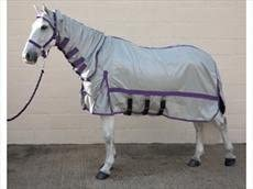 """Hy Guardian Fly Rug & Fly Mask Set -5'6"""""""