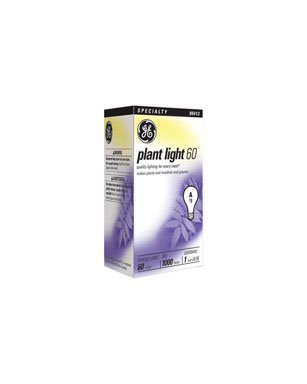 GE Lighting 41624 60/A/PL 60W Plant Light Bulb