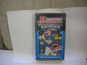2003 BOWMAN DRAFT BASEBALL FACTORY SEALED BOX PAPELBON