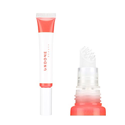 Moisturizing Sheer Balm Lip Tint with Exfoliating Tip for Gentle Dry Skin Removal – UNDONE BEAUTY Lip Life. Natural Shea, Jojoba & Rose Hip for Lip Smoothing. Colorless Non-Sticky Gloss. CLEAR ()
