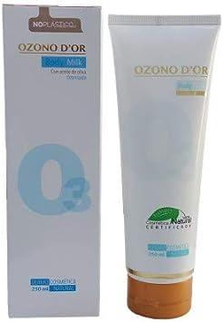 OZONO DOR. Body Milk hidratante corporal de Ozono 250 ml. Crema hidratante que ayuda a mantener tu piel saludable y protege frente a los agentes externos. Ayuda a combatir Estrías y Varices.