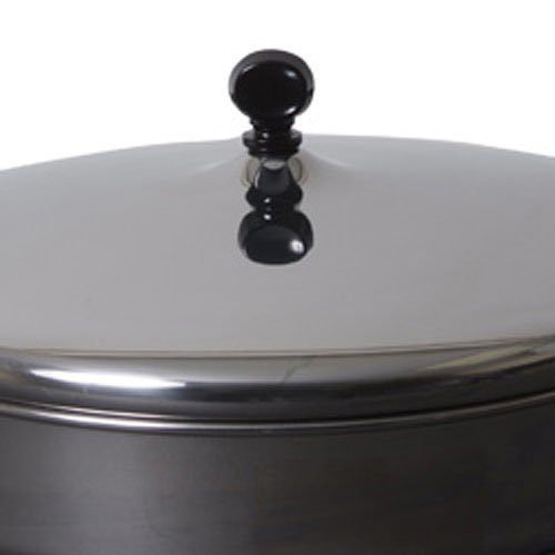 Farberware Classic Stainless Steel Covered Straining Saucepan, 1-Quart
