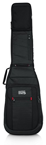 Gator Cases Pro-Go Ultimate Guitar Gig Bag; Fits Electric Bass Guitars (G-PG BASS)