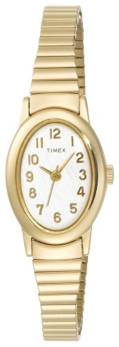 Timex Women's T21882 Classic Cavatina Expansion Stainless Steel Bracelet Watch