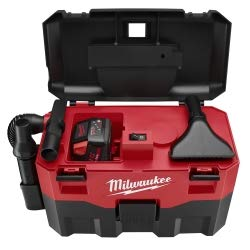 Milwaukee 0880-20 M18 Cordless Lithium-Ion Wet/Dry Vacuum Cleaner from Milwaukee Electric Tool
