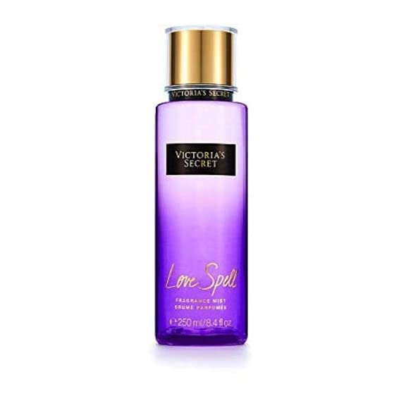 Victoria's Secret Love Spell Fragrance Body Mist Brume Perfume Body Spray for Women, 250 ml