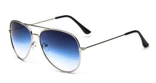 UNAKIM--Unisex Women Men Vintage Retro Fashion Aviator Ombre Colour Sunglasses - Sunglasses Bbc