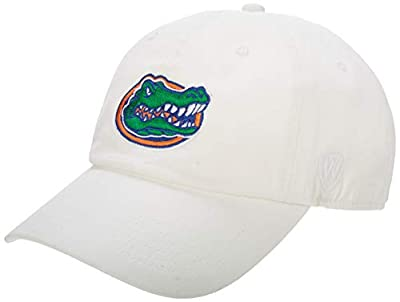 NCAA Men's Adjustable Hat Relaxed Fit White Icon by Elite Fan Shop