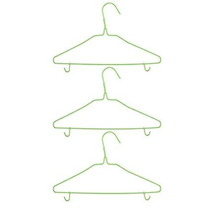 eDealMax plástico Family Hotel La ropa Interior calcetines Camisa del estante del sostenedor de la suspensión
