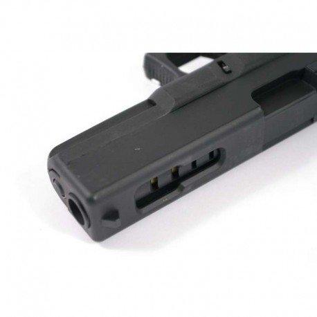 CYMA Airsoft G18 Pistolet Electrique Automatique Cm030 (0.5 Joule) Noir Culasse Métal 4