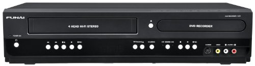 Best Prices! Funai RZV427FX4 Combination VCR and DVD Recorder (Certified Refurbished)