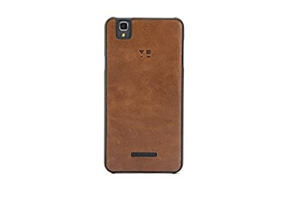 hot sale online af955 cc5f1 YU YBC5510 Back Case for Yureka AO5510 (Coffee Brown)